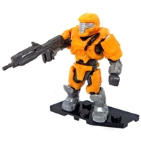 Mega Bloks Halo - Foxtrot Series - Mini Blind Bag Figure - Orange JFO Spartan