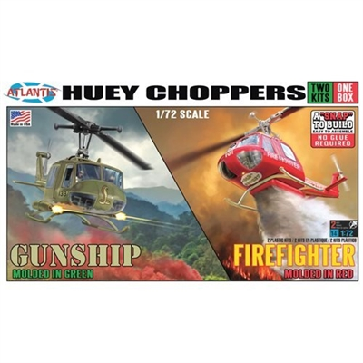 Atlantis Model Kit - Huey Choppers (Set of 2)