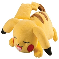 "TOMY- Pokemon 8"" Pikachu Sleeping Plush"