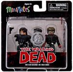 The Walking Dead Series 4 - Riot Gear Governor & Biker Zombie