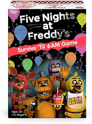 Funko Games - Five Nights at Freddy's Survive 'Til 6am Game