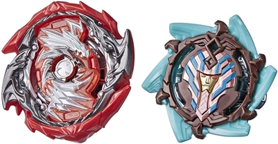 Beyblade Burst Surge Dual Pack - Sphinx S4 and Eclipse Evo Devolos D5