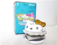 "Kidrobot Hello Sanrio 3"" Vinyl Figure - Hello Kitty Burger Silver Gold"