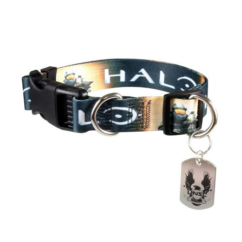Halo Master Chief Adjustable Nylon Dog Collar (Medium)