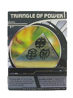Foil Ability Card - Triangle of Power