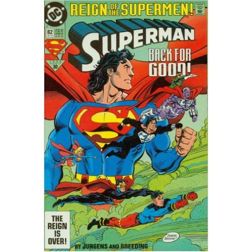 Superman #82 - Back for Good (Reign of the Supermen)