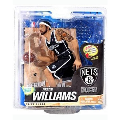 McFarlane NBA Series 22 - Deron Williams - Brooklyn Nets (Black Jersey Chase Level)