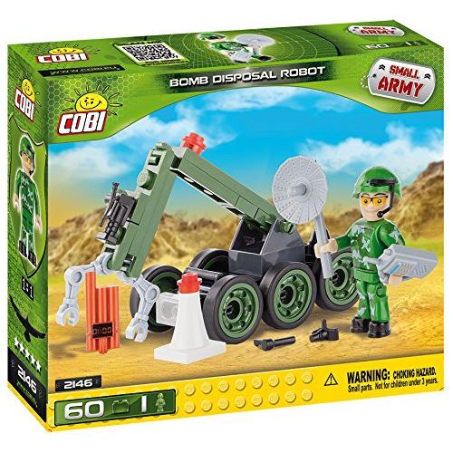 COBI Small Army Bomb Disposal Robot Building Kit (2146)