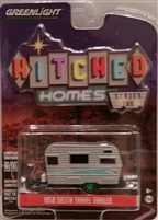 Greenlight - Hitched Homes Series 2 - 1958 Siesta Travel Trailer (Green Machine)