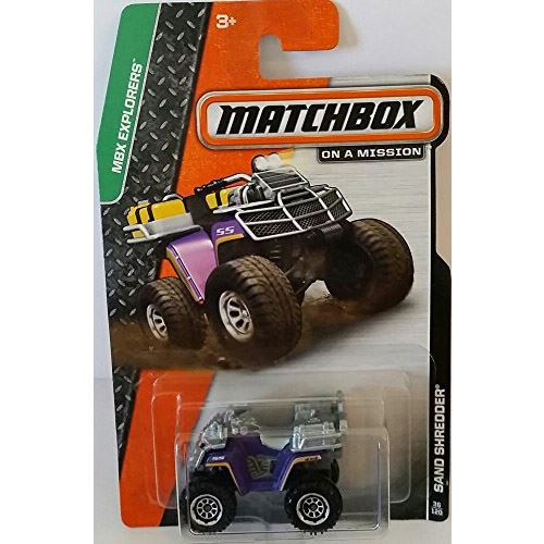 Matchbox Explorers - Sand Shredder (36/120)