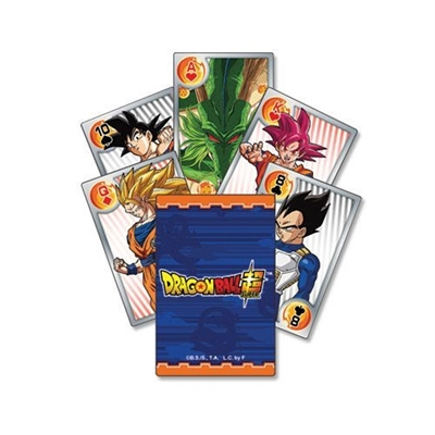 Dragon Ball Super - Battle Of Gods Characters Group Playing Cards