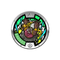 Yo-Kai Watch Series 4 Medal - Uncle Infinite