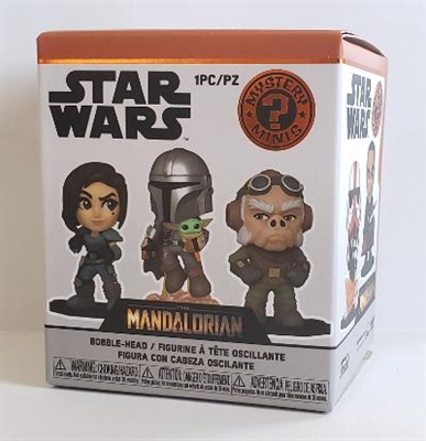 Funko Mystery Mini Vinyls The Mandalorian Series - 1 Random Blind Box
