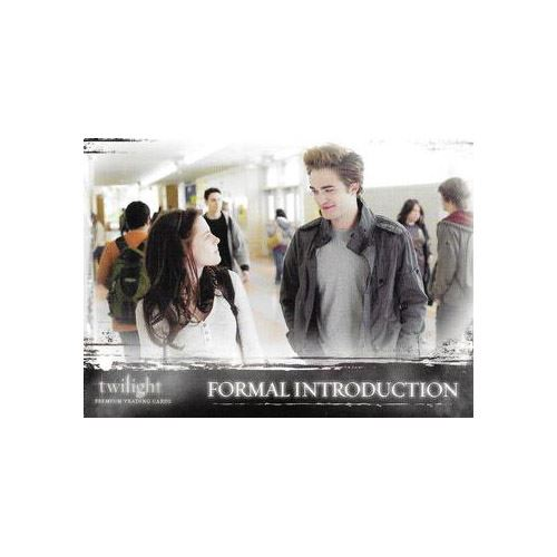 Twilight Premium Trading Cards - Card #30 - Formal Introduction