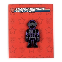 Kidrobot Transformers vs G.I. Joe Enamel Pin Series - Snake Eyes (1/20)