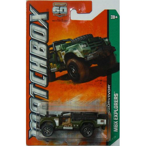Matchbox Explorers - Sahara Survivor  (83/120)