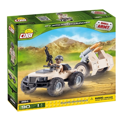 COBI Small Army - ATV w/ Rocket Launcher (2194)