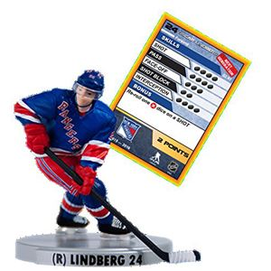 "2016 NHL 2.5"" Figure - Oscar Lindberg - New York Rangers (Uncommon)"