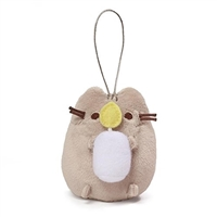"GUND Pusheen Blind Box Series 5 - Holiday Cheer 3"" Plush Ornament - Pusheen with Candle"