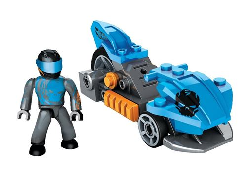 Hot Wheels Blue Precision Luge