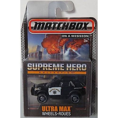 Matchbox Supreme Heroes Collection - Hazard Squad Fire Truck