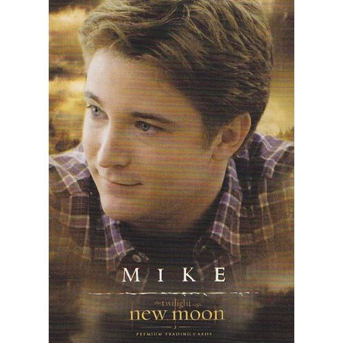 Twilight - New Moon Trading Card - #24 - Mike Newton