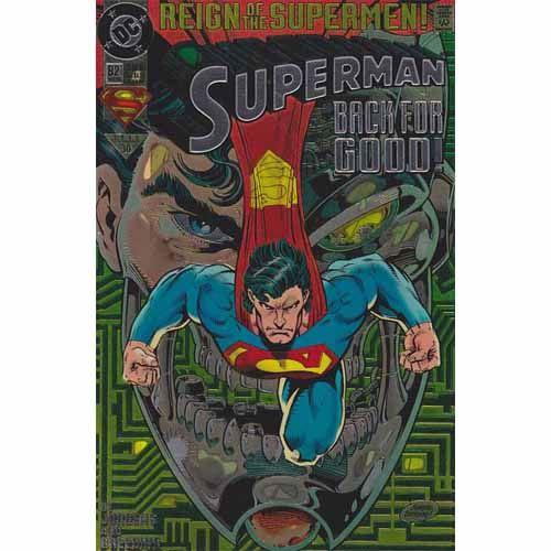 Superman #82 - Back for Good (Chromium Edition)
