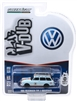 Greenlight - Club V-Dub Series 9 - 1965 Volkswagen Type 3 SQUAREBACK with ROOF Rack (Gulf Light Blue/Orange)