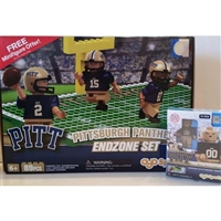 OYO NCAA Football Gift Set - University of Pittsburgh Gift Set of 2 Items
