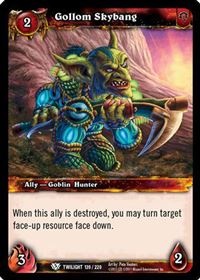 World of Warcraft TCG - Gollom Skybang (139) - Twilight of the Dragons