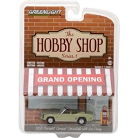 Greenlight Collectibles - The Hobby Shop Series 1 - 1969 Chevrolet Camaro Convertible w/ Gas Pump