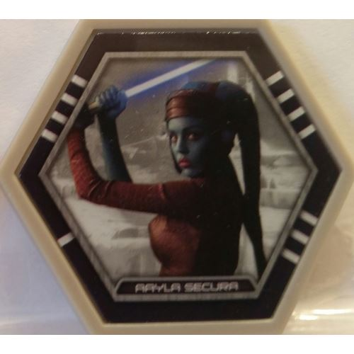 Star Wars Galactic Connexions - Aayla Secura - Gray/Standard - Common