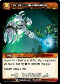 World of Warcraft TCG - Twilight Extermination (217) - Twilight of the Dragons