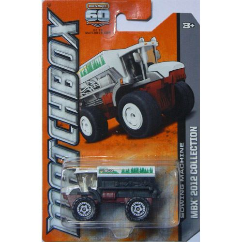 Matchbox 2012 Collection - Sowing Machine