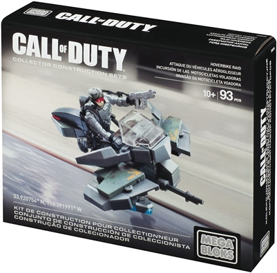 Call of Duty Hoverbike Raid Playset