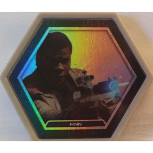 Star Wars Galactic Connexions - Finn - Gray/Holographic Foil - Common