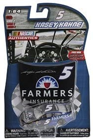 2017- NASCAR Authentics - Kasey Kahne #5- Farmer Insurance