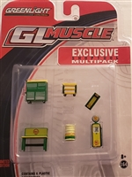 Greenlight GL Muscle Shoptool Multipack - Shell Oil
