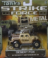 Tonka Metal Diecast Bodies - Strike Force - Desert Fox