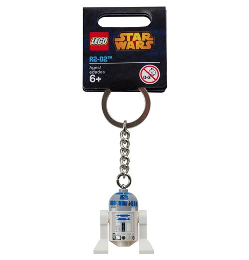 Star Wars: R2-D2 w/ Light Gray Head Keychain