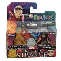 Marvel Minimates  - Doctor Strange (Astral Form) and Strong Zealot
