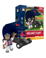 OYO MLB Gift Set - Boston Red Sox - Helmet Cart & Wally the Green Monster
