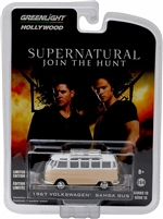 Greenlight - Hollywood Series 13 - Supernatural (2005) - 1967 Volkswagen Samba Bus Diecast Vehicle