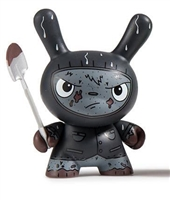 Kidrobot Scared Silly Dunny Series - Cyrus Grave Digger Gray (Chase)