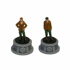 Bundle - 2 Items - The Hunger Games Figurines - Set of 2 Tributes - District 8