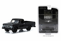 Greenlight - Black Bandit Collection Series 13 - Black 1963 Dodge D-100