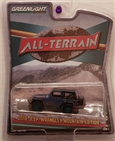 Greenlight - All-Terrain Series 1 - 2010 Jeep Wrangler Mountain Edition - Green Machine