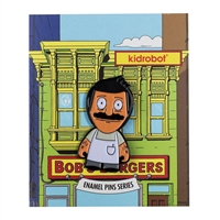 Kidrobot Bob's Burgers Enamel Pin Collection - Bob (2/20)