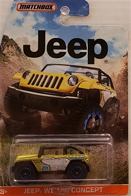 2014 Matchbox Jeep Willys Concept