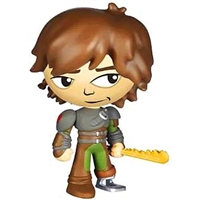 Funko- Mystery Mini- How to Train your Dragon-Hiccup w/Fire Sword